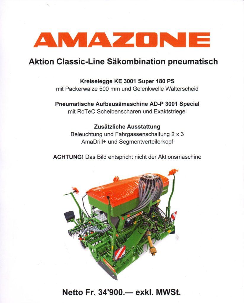 Amazone Sähkombination 2